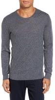 Slate & Stone Men's Basket Weave Merino Wool Sweater