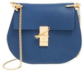 Chloé Small Drew Leather Shoulder Bag - Black