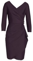 Alex Evenings Women's Embellished Ruched Sheath Dress