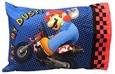 Nintendo Mario Kart Wii Microfiber Standard PillowcaseStandard