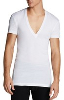 2xist Pima Cotton Slim Fit Deep V-Neck Tee
