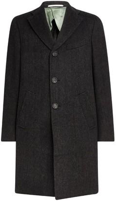 Pal Zileri Wool-Cashmere Tailored Overcoat