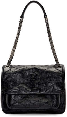 Saint Laurent Black Medium Niki Bag