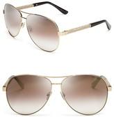 Jimmy Choo Lexie Mirrored Sunglasses, 61mm