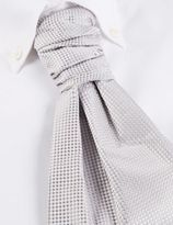 Marks and Spencer Pure Silk Waffle Cravat