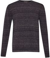 French Connection Rocker Fair Isle Knit Jumper