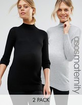 Asos Sweater with High Neck 2 Pack