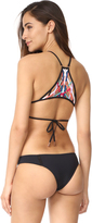 Red Carter Dream Weaver Bikini Top