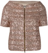 Herno Sequin-Embroidered Puffer Jacket