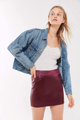 Urban Renewal Vintage Remnants Liquid Satin Mini Skirt
