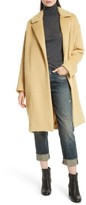 Vince Women's Long Shaggy Coat