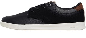 Jack and Jones Mens Spencer Combo Trainers Anthracite