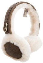 UGG Leather Shearling Earmuffs w/ Tags
