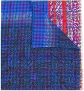 Etro printed scarf - men - Silk/Wool - One Size
