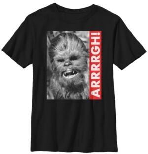 Fifth Sun Star Wars Big Boys Wookiee Rebel Yell Short Sleeve T-Shirt