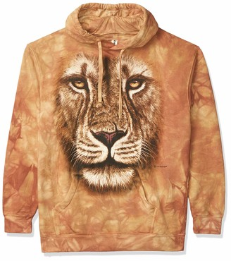 The Mountain Lion Warrior Hsw Adult Hoodie