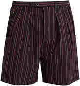 Wooyoungmi Striped tailored shorts