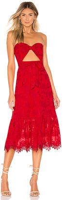 Lovers + Friends Yvette Midi Dress