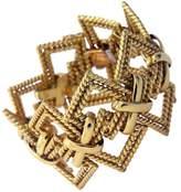 Tiffany & Co. 18K Yellow Gold Wide Open Bracelet