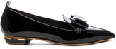 Nicholas Kirkwood Patent Leather Bow Beya Loafers