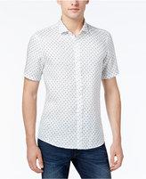 Michael Kors Men's Slim-Fit Mini-Globe Print Shirt
