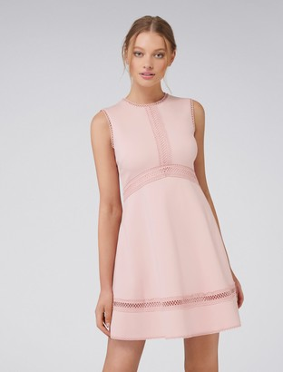 Forever New Penny Ponte Dress - Rouge Rose - 10