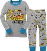 Children Love Boys Pajamas Little Kids Pjs Sets 100% Cotton Sleepwears