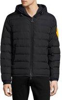 Moncler Dinard Hooded Puffer Jacket, Black