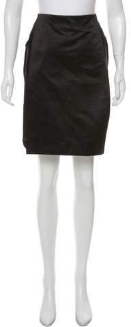 Calvin Klein Collection Satin Pencil Skirt