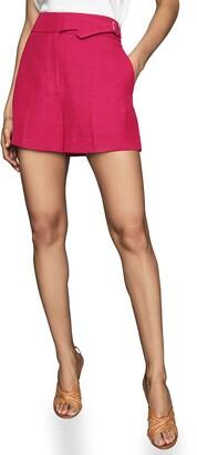 Reiss Ada Linen Blend Shorts