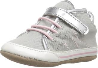 Robeez Baby-Girl's High Top Sneaker