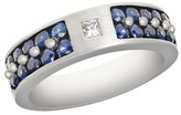 Effy Jewelry Gento Blue Sapphire and Diamond Ring, 1.69 TCW