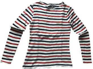 Maison Labiche Multicolour Cotton Top for Women
