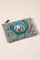 Anthropologie Shimmer Scales Pouch
