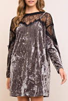 Entro Velvet Dress