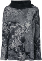 Avant Toi stained effect jumper - women - Silk/Cashmere/Wool/Merino - XS