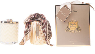 Cote Noire Candle And Scarf Set Blonde Vanilla Pack/2