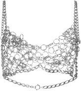 Maison Margiela chain link bra top