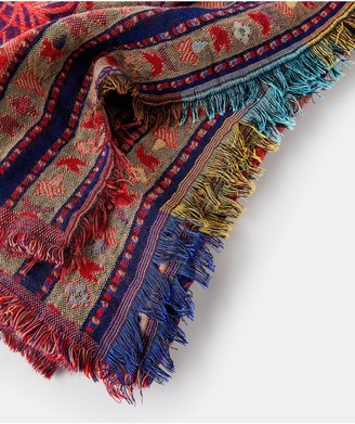 Monsoon Paisley Jacquard Blanket Scarf - Multi