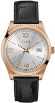 GUESS Black and Rose Gold-Tone Midsize Watch