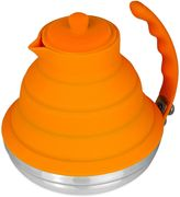 Bed Bath & Beyond Silicone & Stainless Steel Collapsible 40 oz. Tea Kettle