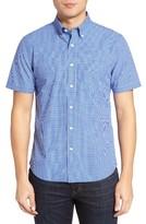 Jack Spade Men's Micro Check Trim Fit Sport Shirt