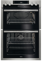 AEG DES431010M Built-In Multifunction Double Oven, Stainless Steel