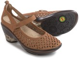 Jambu Calypso Mary Jane Wedge Shoes - Nubuck (For Women)