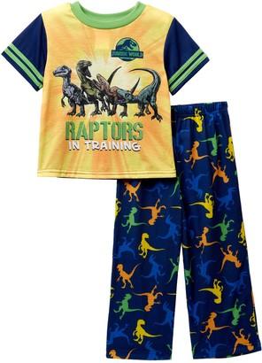 Emoji Jurassic World Raptors in Training Pajama Set (Toddler Boys)