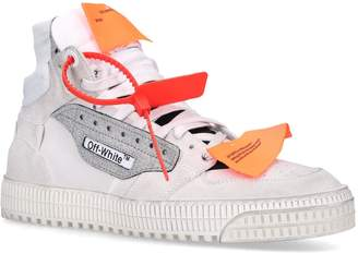 Off-White Off White Glitter Panel Off-Court 3.0 Sneakers