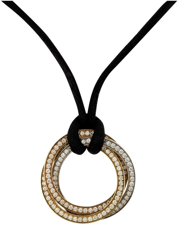 Cartier Trinity yellow gold necklace