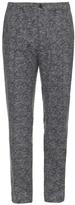 MAISON KITSUNÉ Camouflage-print wool trousers