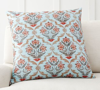 Pottery Barn Lilianna Floral Pillow Cover