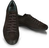 Moreschi Dark Brown Suede Sneaker